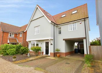 Thumbnail 5 bed detached house for sale in The Limes, Church Road, Tattingstone, Suffolk