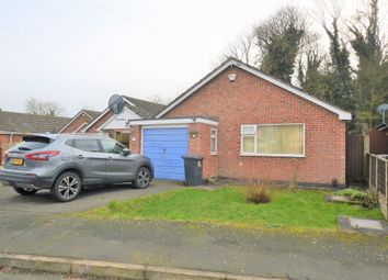 Thumbnail 2 bed detached bungalow for sale in Alan Close, Rusheymead, Leicester