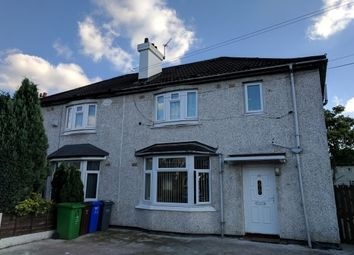 Thumbnail 3 bed semi-detached house to rent in Southlea Avenue, Withington