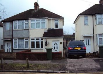 Thumbnail 2 bed semi-detached house to rent in Fourth Avenue, Sundon Park, Luton