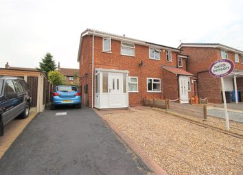 Thumbnail 2 bedroom semi-detached house for sale in Russet Close, Oakwood, Derby