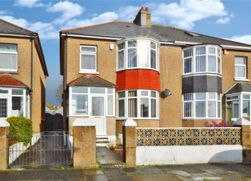 3 bed semi-detached house for sale in Beaconfield Road, Plymouth, Devon PL2