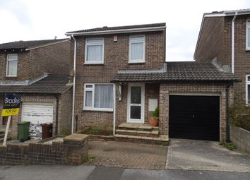 Thumbnail 3 bed detached house to rent in Maddock Close, Plympton, Plymouth