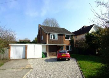Thumbnail 4 bed detached house to rent in Andover Road, Newbury