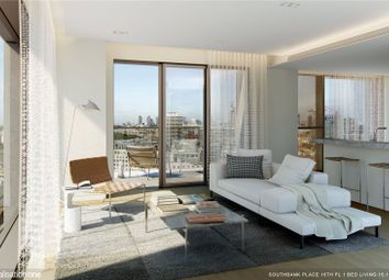 Thumbnail 1 bed flat for sale in Souhtbank Place, 30 Casson Square, York Road, London