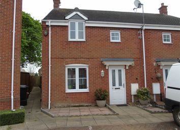 Thumbnail 3 bed semi-detached house for sale in Harvey Close, Barwell, Leicester