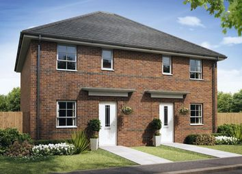 """Thumbnail 3 bedroom semi-detached house for sale in """"Folkestone"""" at Ruston Road, Burntwood"""