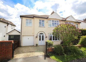 Thumbnail 5 bed semi-detached house for sale in Abbey Road, Westbury-On-Trym, Bristol