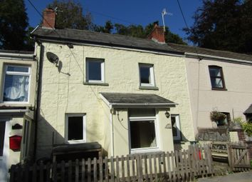 Thumbnail 2 bed terraced house for sale in Heol Rheolau, Abercrave, Swansea.