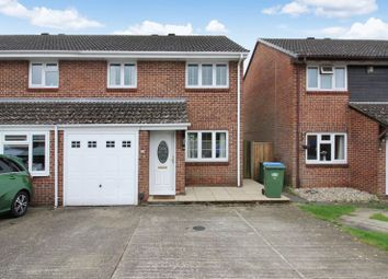 Thumbnail 3 bed semi-detached house for sale in Woodrush Crescent, Locks Heath, Southampton