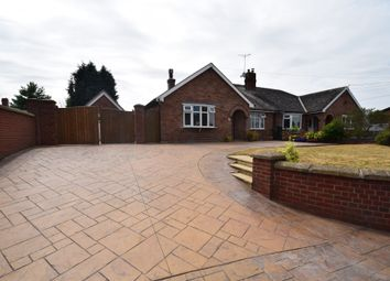 Thumbnail 3 bed semi-detached bungalow for sale in Poplar Close, Wrexham Road, Whitchurch