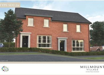 Thumbnail 3 bedroom semi-detached house for sale in Millmount Village, Comber Road, Dundonald
