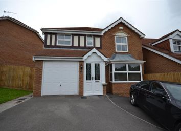 Thumbnail 4 bedroom detached house for sale in Cennin Pedr, Barry