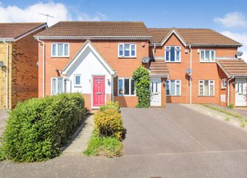 Thumbnail 2 bed terraced house for sale in Wiseman Close, Luton