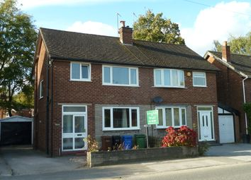 Thumbnail 3 bed semi-detached house to rent in Bramhall Moor Lane, Hazel Grove, Stockport