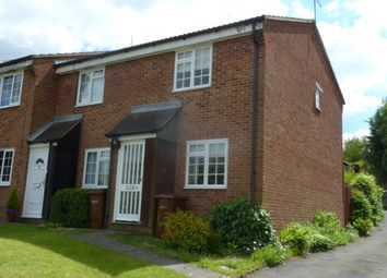 Thumbnail 2 bed end terrace house to rent in Gatcombe Close, Chatham