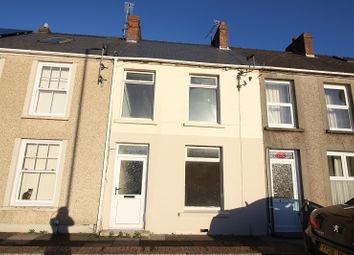 Thumbnail 2 bed terraced house for sale in Marble Hall Road, Milford Haven, Pembrokeshire.