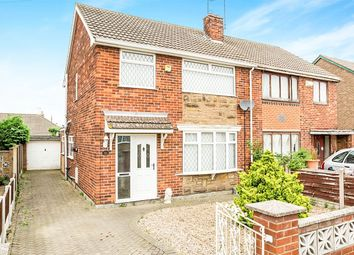 Thumbnail 3 bed semi-detached house for sale in Hartland Crescent, Edenthorpe, Doncaster