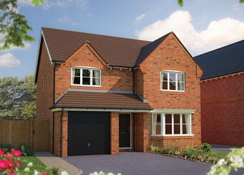 "Thumbnail 4 bed detached house for sale in ""The Durham"" at The Poppies, Meadow Lane, Moulton, Northwich"