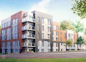 "Thumbnail 1 bed flat for sale in ""The Moulton"" at Saxon Lane, Upton, Northampton"