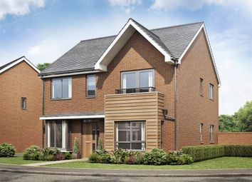 Thumbnail 4 bed detached house for sale in The Barlow Bramshall Meadows, Bramshall, Uttoxeter