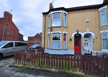 Thumbnail 3 bed end terrace house for sale in Westcott Street, Hull