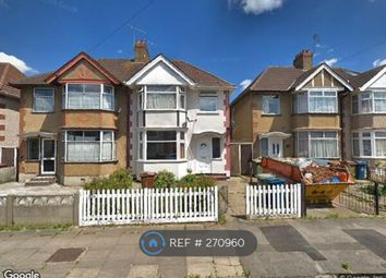 Thumbnail 4 bed semi-detached house to rent in Park Lane, Harrow