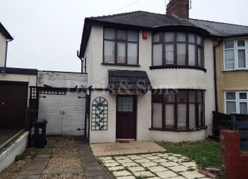 Thumbnail 3 bed semi-detached house to rent in Lyndhurst Avenue, Newport, Newport.