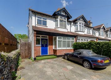 Thumbnail 3 bed terraced house for sale in Whytecliffe Road North, Purley, Surrey