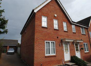 Thumbnail 3 bed semi-detached house to rent in Alan Avenue, Newton Flotman, Norwich