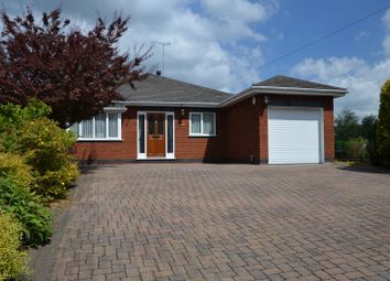 Thumbnail 3 bed bungalow for sale in Church Street, Donisthorpe