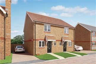 Thumbnail 2 bed semi-detached house for sale in Chinnor Garden Centre, Thame Road, Chinnor