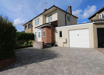 Thumbnail 3 bed semi-detached house for sale in The Ridgeway, Harold Wood, Romford, London