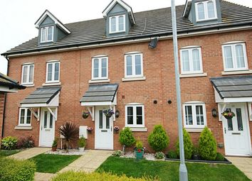 Thumbnail 3 bed terraced house for sale in Saffron Crescent, Sawbridgeworth, Hertfordshire