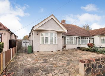 Thumbnail 3 bed bungalow to rent in Rushmere Avenue, Upminster