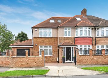 Thumbnail 6 bed semi-detached house for sale in Clarence Avenue, New Malden