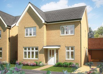 "Thumbnail 4 bed property for sale in ""The Aspen"" at Silfield Road, Wymondham"