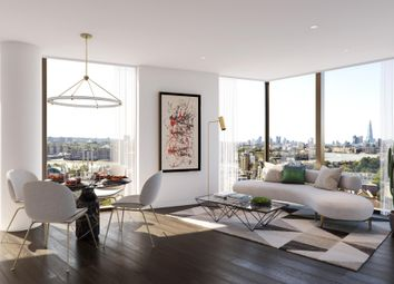 Thumbnail 2 bed flat for sale in Vetro, Canary Wharf, London