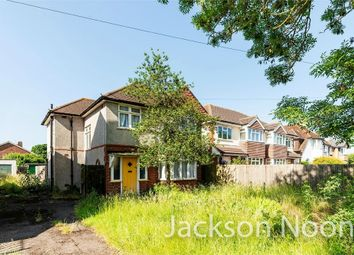 Thumbnail 3 bed detached house for sale in Chessington Road, West Ewell, Epsom