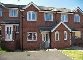 Thumbnail 3 bedroom town house to rent in Bramble Close, South Normanton, Alfreton, Derbyshire