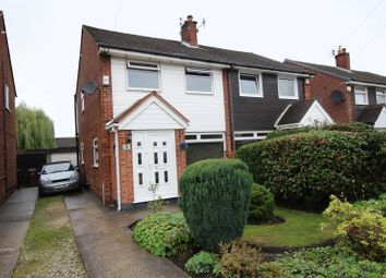 Thumbnail 3 bed semi-detached house for sale in Fairford Way, Stockport