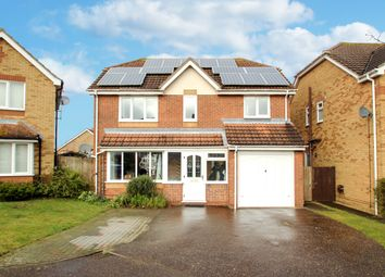 Thumbnail 4 bed detached house for sale in Glemham Drive, Rushmere St Andrew, Ipswich