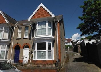 Thumbnail 4 bedroom end terrace house for sale in Beechwood Road, Uplands, Swansea, City & County Of Swansea.