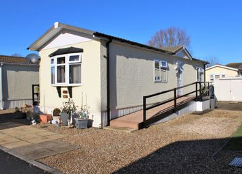Thumbnail 2 bed mobile/park home for sale in Manor Park, Uphill, Weston-Super-Mare