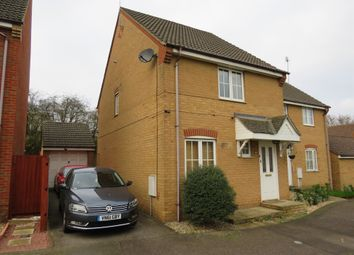 Thumbnail 3 bed semi-detached house for sale in Tailby Avenue, Kettering