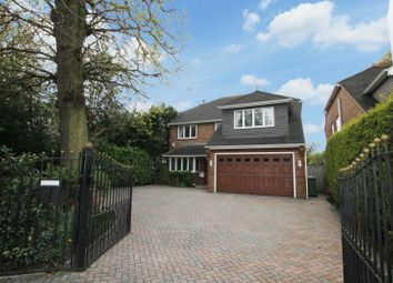Thumbnail 5 bed detached house to rent in Hersham Road, Walton On Thames, Surrey