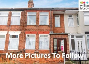 Thumbnail 3 bed terraced house to rent in Rensburg Street, Hull