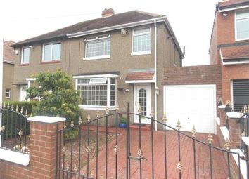 Thumbnail 3 bed semi-detached house for sale in Northcote Avenue, Newcastle Upon Tyne