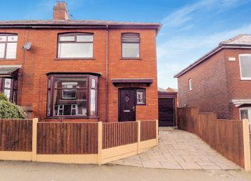 Thumbnail 3 bedroom semi-detached house for sale in Adrian Road, Halliwell, Bolton