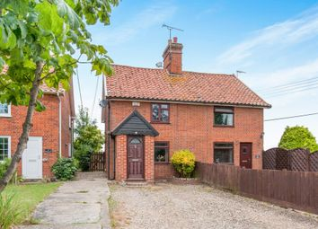 2 bed semi-detached house for sale in The Green, Pettaugh, Stowmarket IP14